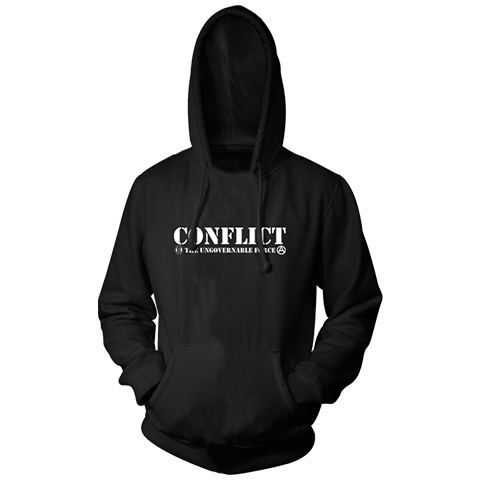Conflict The Ungovernable Force Pullover Hoody