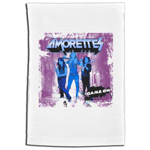 Amorettes Game On Tea-Towel