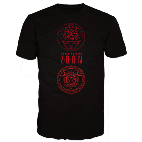 Fields Of The Nephilim zoon 3 seals short sleeve t-shirt