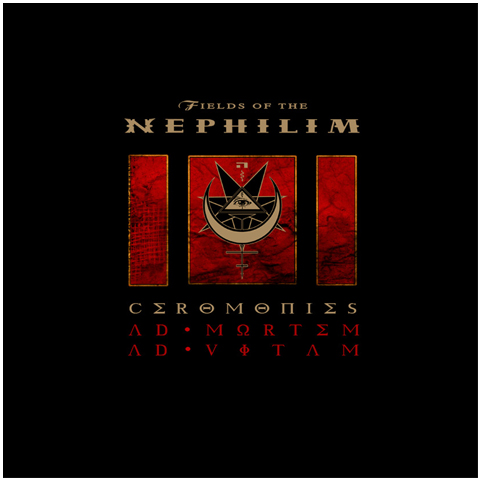Fields Of The Nephilim ceromonies cd/dvd cd