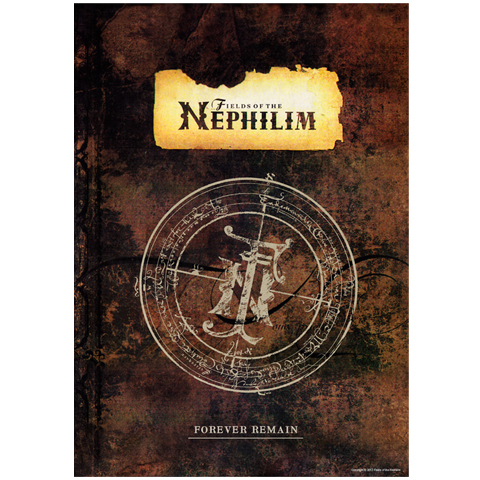 Fields Of The Nephilim forever remain a1 poster