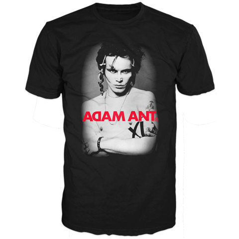 Adam Ant photo usa tour 2013 short sleeve t-shirt