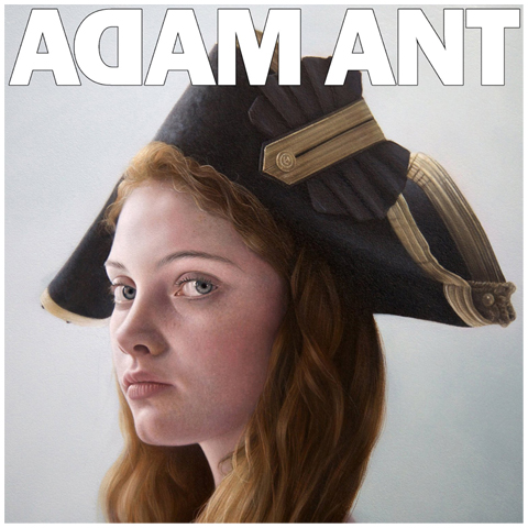 Adam Ant is the blueblack hussar in marrying the gunners daughter vinyl