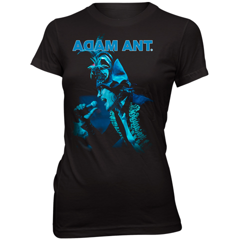 Adam Ant blueblack 2012 skinny fit t-shirt