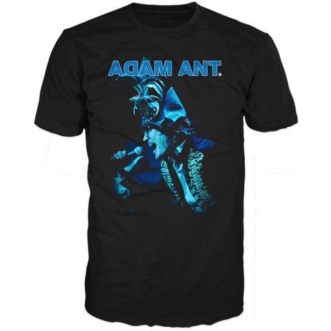 Adam Ant blueblack 2012 short sleeve t-shirt