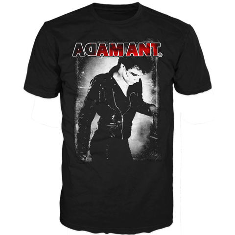Adam Ant retro short sleeve t-shirt