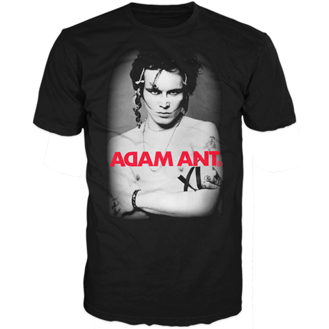 Adam Ant photo kings of the wild frontier 2016 short sleeve t-shirt