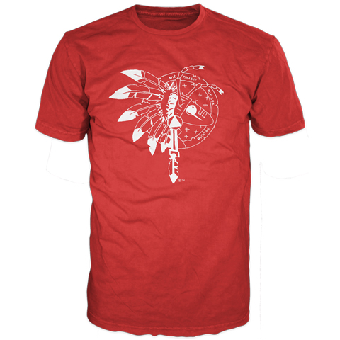 Adam Ant warrior red short sleeve t-shirt