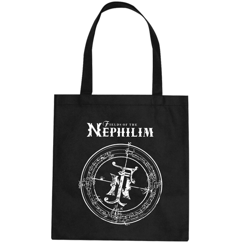 Fields Of The Nephilim classic logo Tote Bag