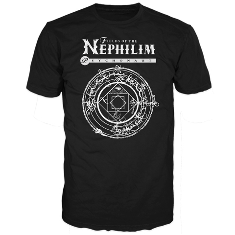 Fields Of The Nephilim psychonaut short sleeve t-shirt