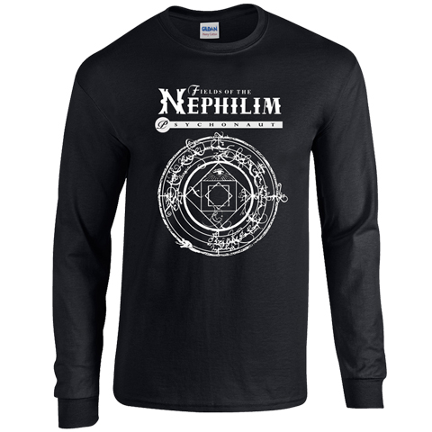 Fields Of The Nephilim psychonaut long sleeve t-shirt