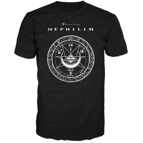 Fields Of The Nephilim katowice poland 2011 short sleeve t-shirt