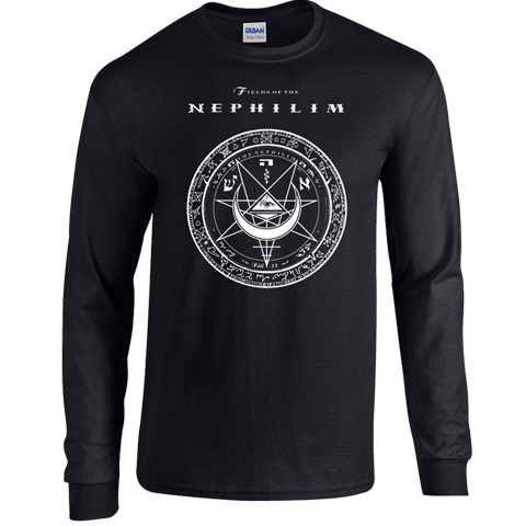 Fields Of The Nephilim shadowplay festival 2011 long sleeve t-shirt