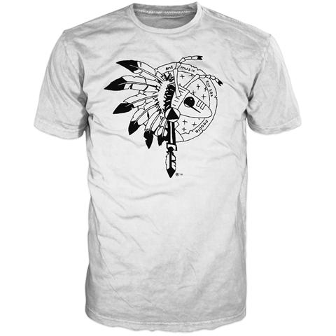 Warrior 2016 Tour White Short Sleeve T-Shirt