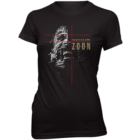 Fields Of The Nephilim zoon metatron skinny fit t-shirt
