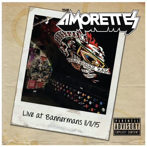 The Amorettes live at bannermans cd