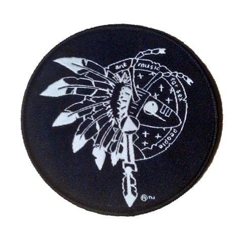 Adam Ant Warrior Circle Patch