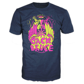 Jack Bruce mirror navy short sleeve t-shirt