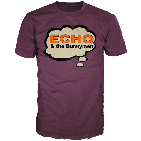 Echo And The Bunnymen Bubble short sleeve t-shirt