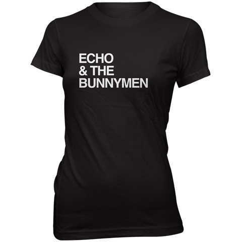 Echo And The Bunnymen Logo skinny fit t-shirt