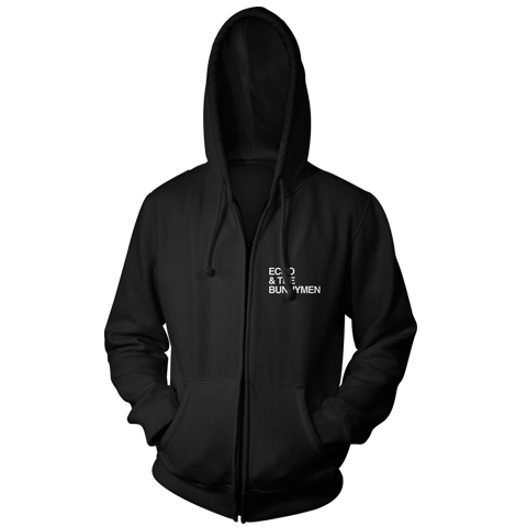 Echo And The Bunnymen Logo zip hoodie