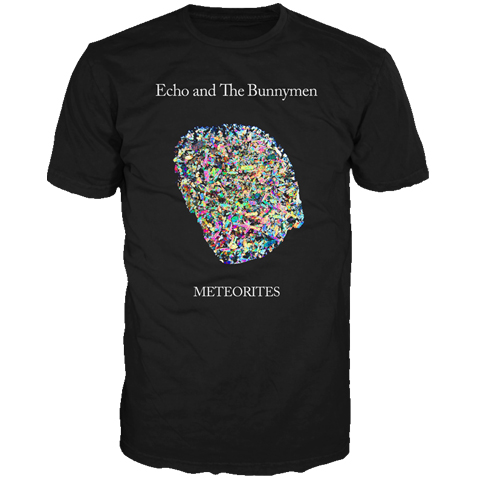 Echo And The Bunnymen Meteorites Europe 2014 short sleeve t-shirt