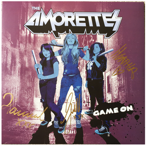 The Amorettes Game On Signed Vinyl