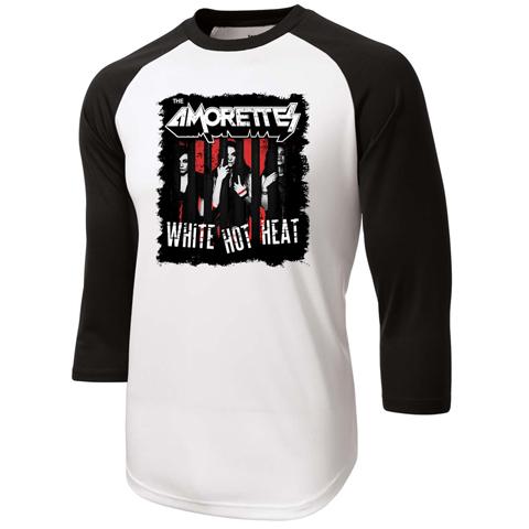 White Hot Heat Baseball Shirt
