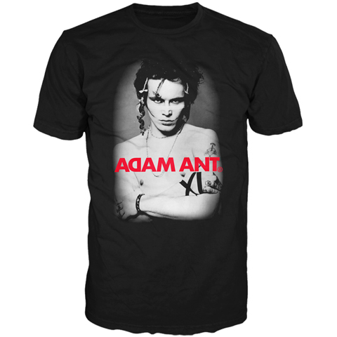Adam Ant Classic Photo Final Performance Short Sleeve T-shirt