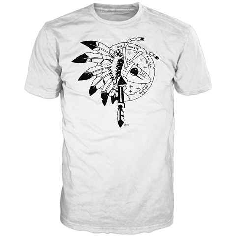 Adam Ant Warrior White Final Performance Short Sleeve T-shirt