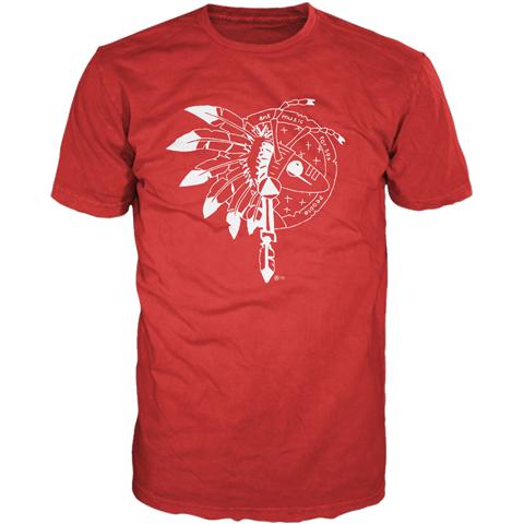 Adam Ant Warrior Red Final Performance Short Sleeve T-shirt