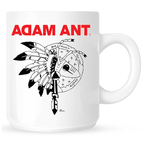 Adam Ant Warrior Mug