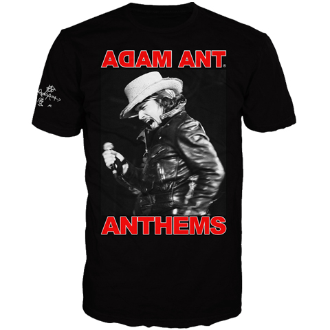 Adam Ant Anthems 2017 Short Sleeve T-Shirt