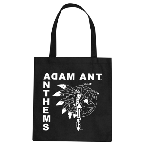 Adam Ant Anthems 2017 Tote Bag