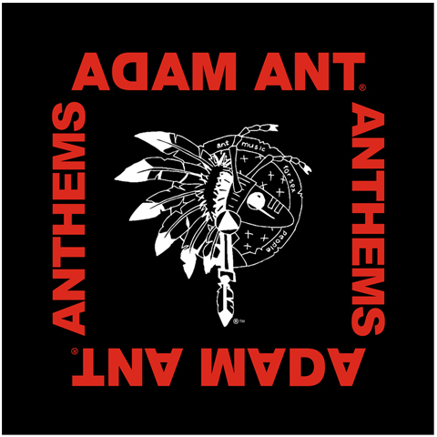 Adam Ant Anthems Black Bandana
