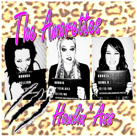 The Amorettes Haulin Ass CD