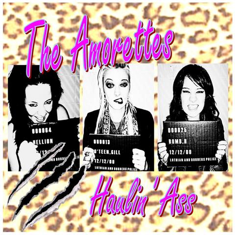 The Amorettes Haulin Ass CD