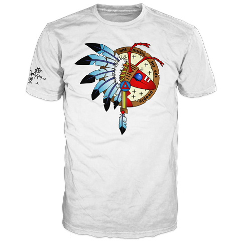 Warrior Colour White Short Sleeve T-shirt