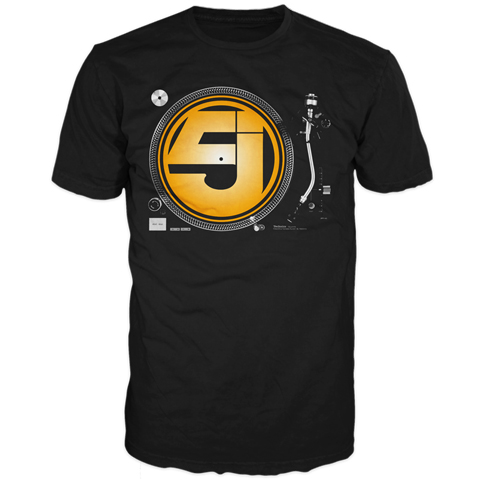 Jurassic 5 Turntable Short Sleeve T-Shirt