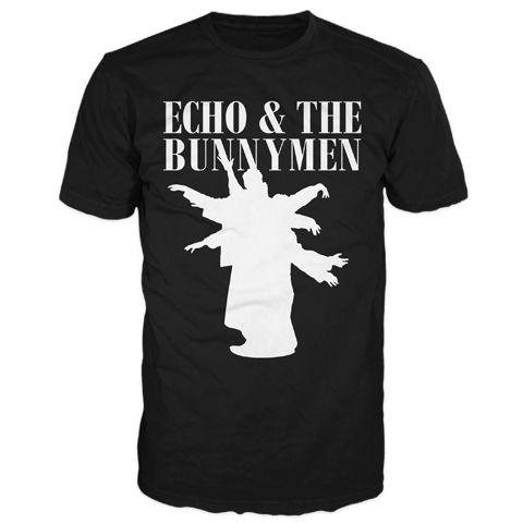 Echo And The Bunnymen USA 2017 Silhouette Short Sleeve T-Shirt
