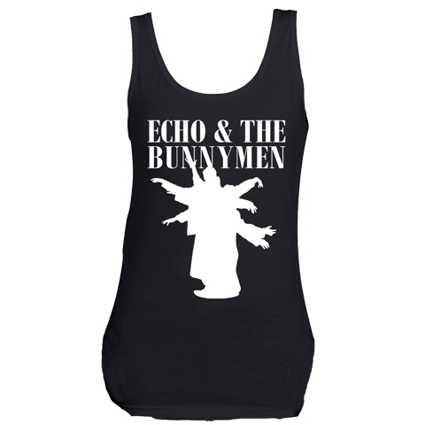 Echo And The Bunnymen Silhouette Skinny Fit Vest