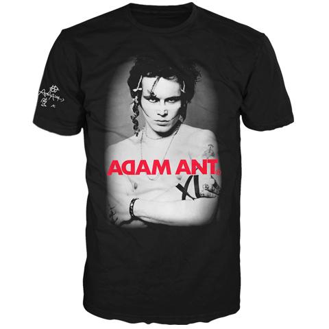 Adam Ant USA 2017 Classic Photo Short Sleeve T-Shirt