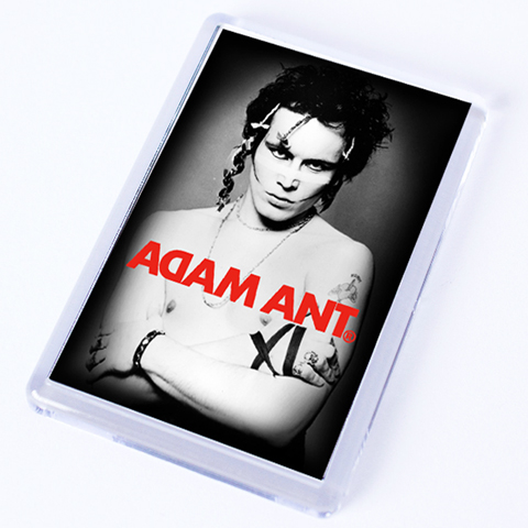Adam Ant Classic Photo Fridge Magnet