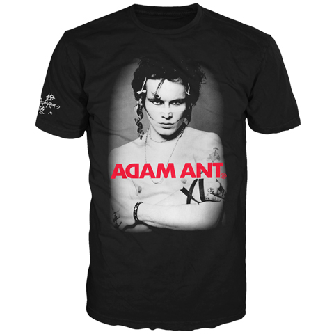 Adam Ant Photo Australia And New Zealand 2017 Short Sleeve T-Shirt