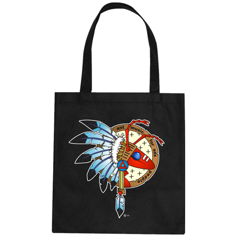 Adam Ant Colour Warrior Logo Tote Bag