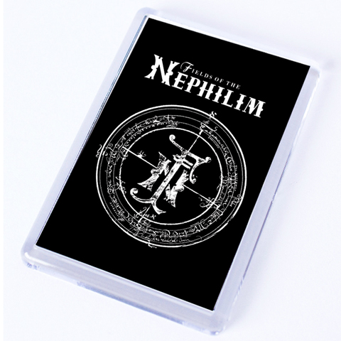 Fields Of The Nephilim Classic Logo Fridge Magnet