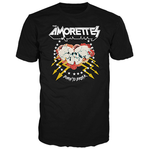 The Amorettes Born To Break Short Sleeve T-Shirt