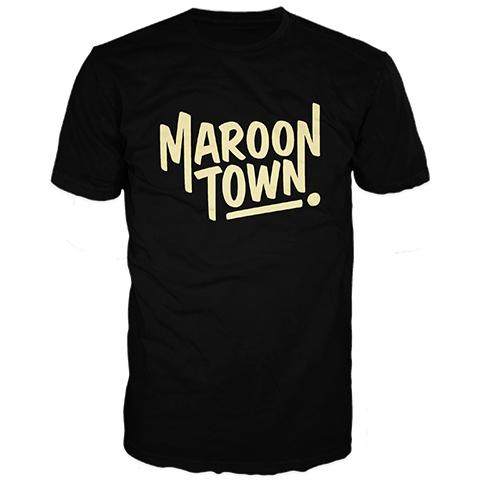 Maroon Town Logo Short Sleeve T-Shirt