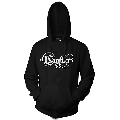 Conflict Old Logo Pullover Hoodie