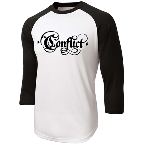 Conflict Old Logo Baseball Shirt